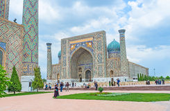 The architecture of Samarkand Royalty Free Stock Image