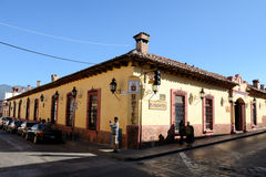 Architecture San Cristobal de las Casas Royalty Free Stock Images
