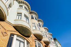 Architecture of San-Francisco, California Royalty Free Stock Images