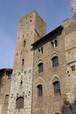 Architecture of San Gimignano Royalty Free Stock Image