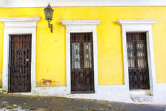 Architecture in San Juan Royalty Free Stock Photography