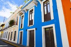 Architecture in San Juan Royalty Free Stock Photos