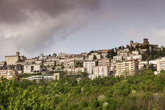 Architecture of San Marino Royalty Free Stock Photography