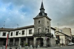 Architecture in San Rafael of Spain Royalty Free Stock Photography