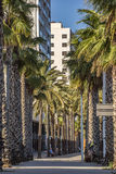 Architecture Sant Marti district in Barcelona. BARCELONA, SPAIN - JULY 3, 2016: Architecture Sant Marti district in Barcelona royalty free stock image