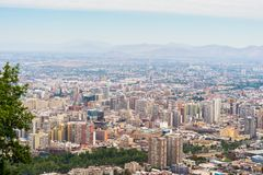 Architecture of Santiago de Chile Royalty Free Stock Photography