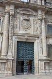 Architecture of Santiago de Compostela Royalty Free Stock Photos
