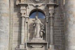 Architecture of Santiago de Compostela Royalty Free Stock Photography