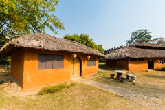 Architecture of Santichon chinese village Royalty Free Stock Photography