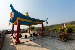 Architecture of Santichon chinese village Stock Image