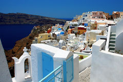 Architecture at Santorini Royalty Free Stock Photography
