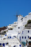 Architecture on Santorini island, Greece Royalty Free Stock Image