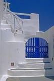 Architecture on Santorini island, Greece Royalty Free Stock Photo