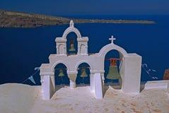 Architecture on Santorini island, Greece Royalty Free Stock Photography