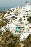 Architecture on Santorini Island. Stock Photos