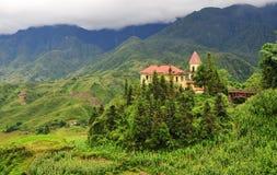 Architecture of Sapa, Lao Cai Royalty Free Stock Image