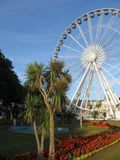 Seaside architecture of Torquay, England Stock Photos