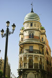 Architecture in seville Royalty Free Stock Photos