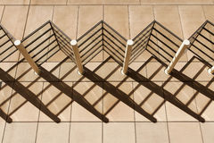 Architecture Shadow Patterns Stock Photography