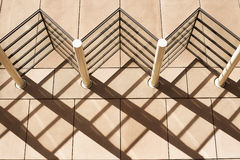 Architecture Shadow Patterns Royalty Free Stock Photography