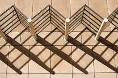 Architecture Shadow Patterns Royalty Free Stock Photo
