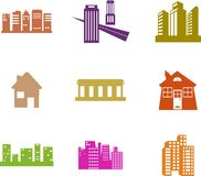 Architecture shapes Stock Images