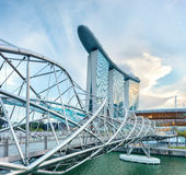Architecture of Singapore Royalty Free Stock Photo