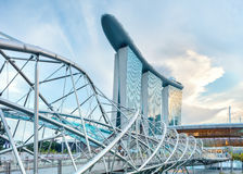 Architecture of Singapore Royalty Free Stock Images