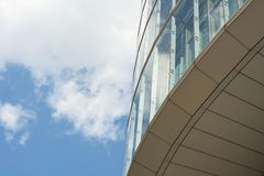Architecture with Sky and Cloud Reflection Royalty Free Stock Photo
