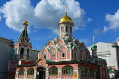 Architecture, sky, Russia, Simbol, dome, Moscow, church, orthodox church Stock Images