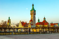 Architecture of Sopot Stock Images