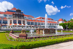 Architecture of Sopot at the Molo in Poland Royalty Free Stock Image