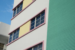 Architecture in South Beach Stock Photography