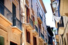 Architecture of Spain. Palma de Mallorca Stock Image