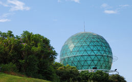 Architecture of sphere Stock Photos