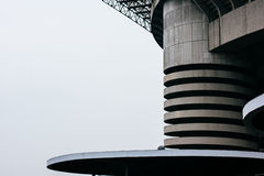 Architecture of a sports complex Royalty Free Stock Image