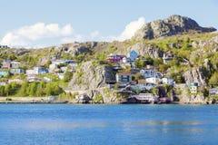 Architecture of St. John`s, Newfoundland royalty free stock photos