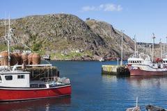Architecture of St. John`s, Newfoundland. St. John`s, Newfoundland and Labrador, Canada royalty free stock image