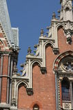 Architecture, St. Pancras Station, London Royalty Free Stock Images