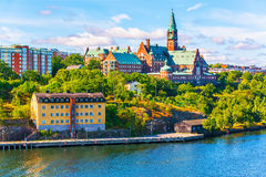 Architecture of Stockholm, Sweden Stock Image