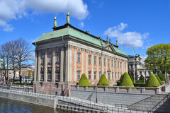 Architecture of Stockholm Royalty Free Stock Photography