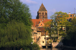 Architecture in Strasbourg, France Royalty Free Stock Photography