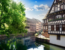 Architecture of Strasbourg Stock Photography