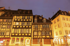 Architecture of Strassburg at sunrise Royalty Free Stock Photography