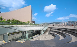 Architecture structure of Hong Kong Stock Image