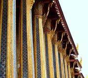 Architecture style / wat prakaew royalty free stock image