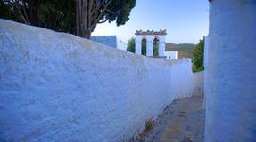 Architecture sur l'île de Patmos Images stock