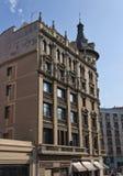 Architecture sur les rues de Barcelone Image stock