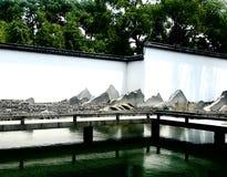 Suzhou garden stock photo