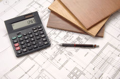 Architecture table Royalty Free Stock Photography